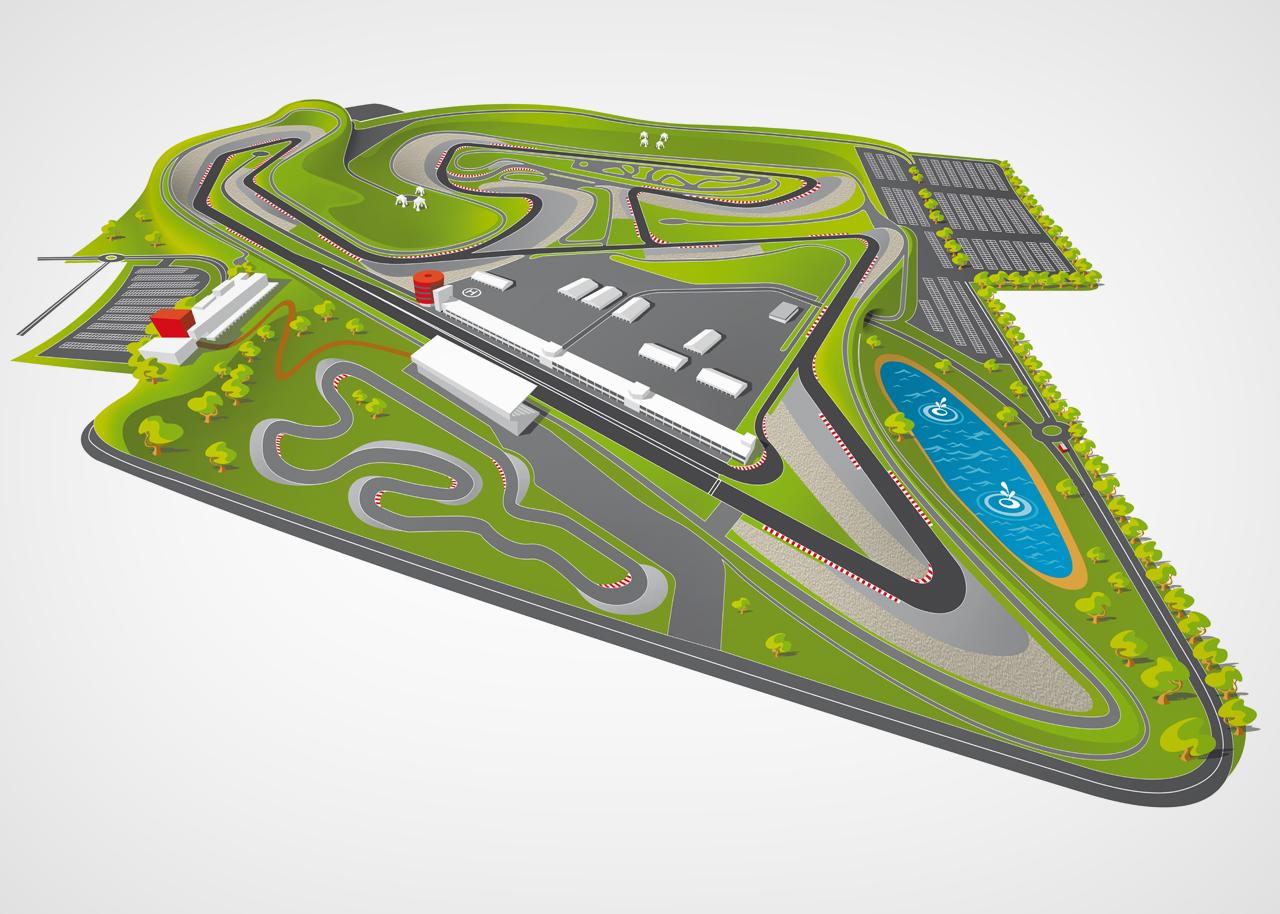 Circuito Navarra : Circuito de navarra publicidad mikel echandi diseño gráfico y